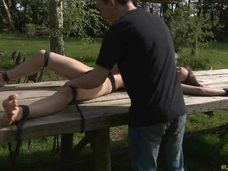 infirm infant submisive rough opressed outdoor