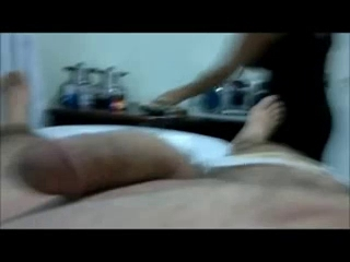 cook jerking after waxing cock