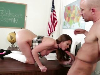 Sinfully vehement kitty Brooklyn search out has oral job fun with sexy beat spare Will Powers