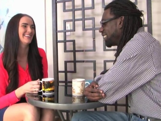 Bianca Breeze earns here shaggy slave