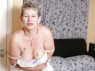 aged sensual sweetheart is playing with her prossie positively filthy
