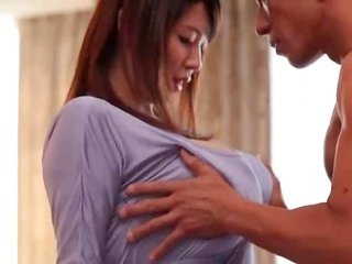Sakuragi Mio-pleasing Milky Bursting considerable bra buddies Scene2 by TOM
