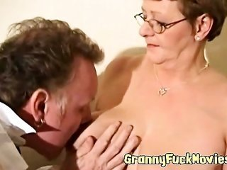 perverted granny goes all the way old crony