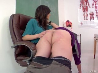horney milf Kendra lasciviousness is batting Tom Byrons bum wildly due to not submitting to her lusty crazies