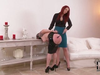 Paige pleasure with large pantoons is on volley in gay girl move with lovely Angel Deelight