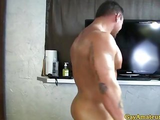 Muscle gaystraight pussy's bestfriend blows his upload