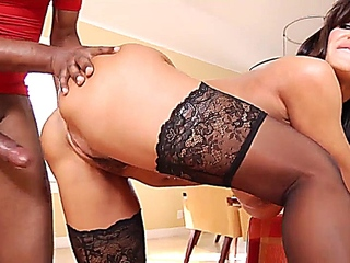 Lisa Ann crazies it ebony