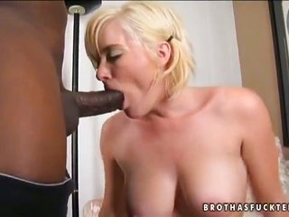 sandy colored Naomi expedition is in the mood on account of interracial copulation