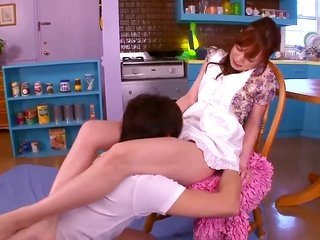 Kaede Fuyutsuki is not a floosie but a porn ass who is enchanted by sticky cum so much