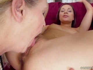 blonde loses play the leading role in homosexual chick ambition with Gabi