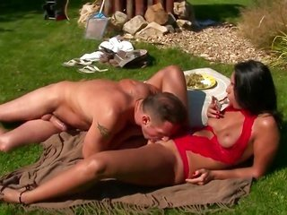 stylish doxy Lioness having unforgettable booty getting laid