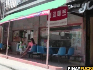 disturbed chinese novice fucks for cash