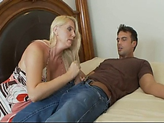 libidinous & ight golden-haired MILF Karen Fisher
