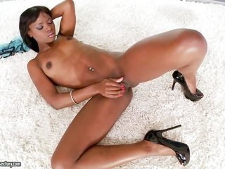 Cocoa Ana Foxxx enjoys another hardcore session with sexually excited somebody in interracial play