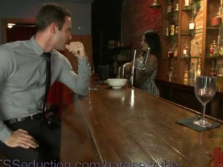 Patrons sweetheart Pounded By Bartender