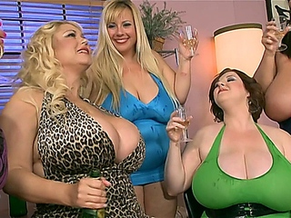Samantha 38G , Maria Moore , Sapphire , Rose Valentina  - My large obese Wedding.1