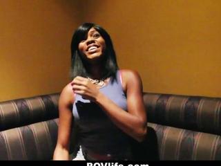 POVLife - ebon woman desires wang For Dinner