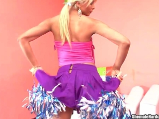 shelady Cheerleader A for the reason that Anal