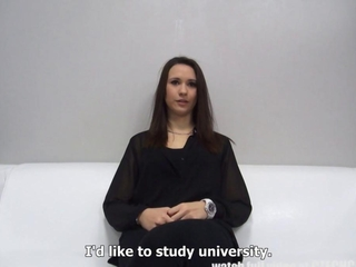 stimulating Princess Student Monika Sucks Like a dominatrix