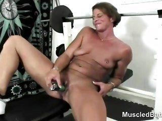sports milf dong mates massive clit pussy