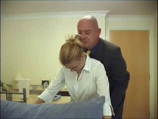 strict daddy In Law grabs Stuck In !